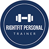 Right Fitness Trainer Logo